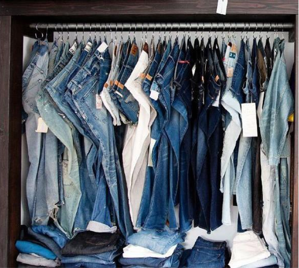 jeans ganchos