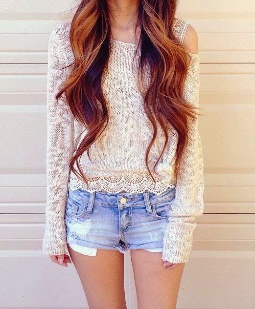 jeans shorts outfit