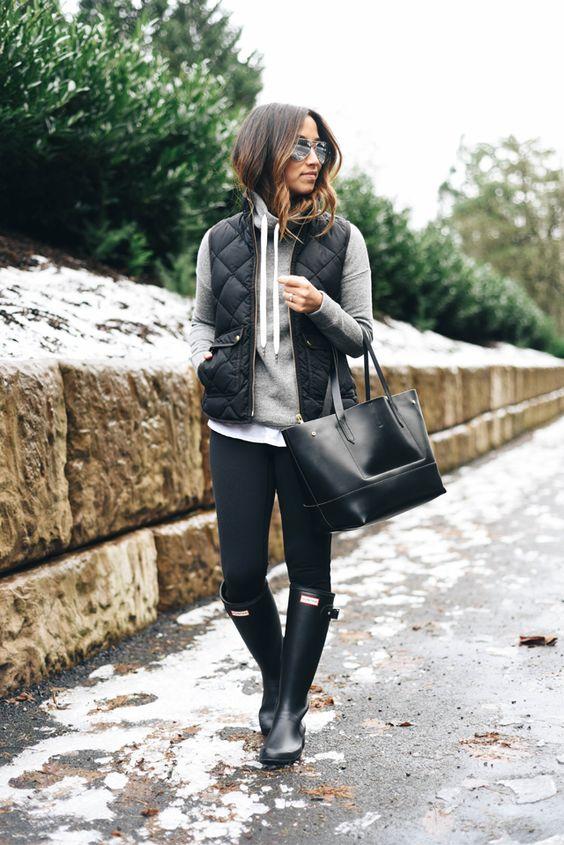 leggings rain