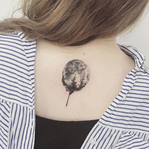 luna cubierta