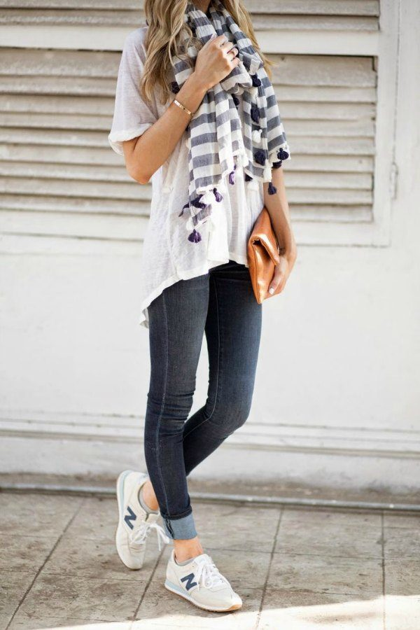 Outfits Casuales Fashionistas Con Tenis New Balance