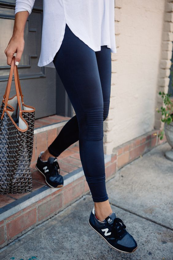 new balance outfit chic