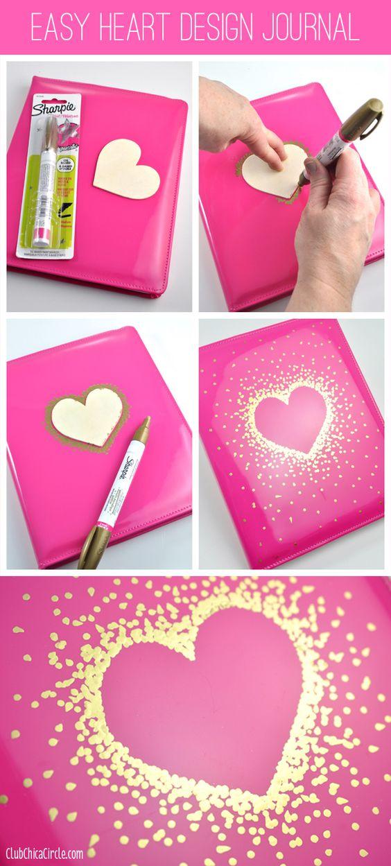 notebook sharpie