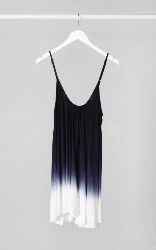 ombre vestido