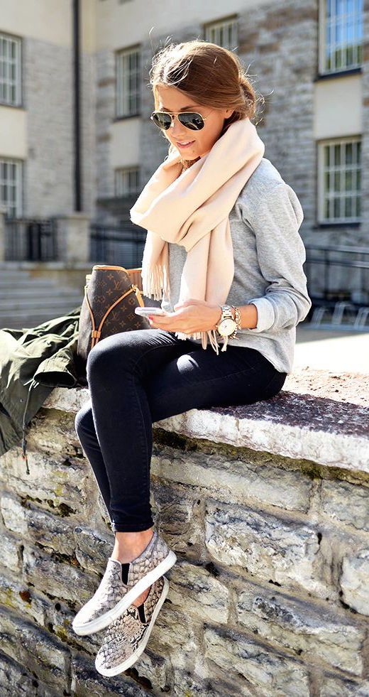 outfits con gris