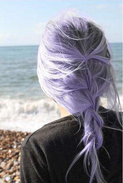 purple hiar
