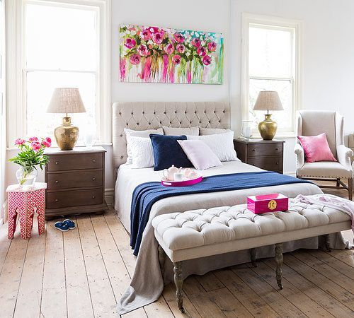 15 habitaciones en las que podr a vivir encerrada toda mi vida - Master bedroom art above bed ...