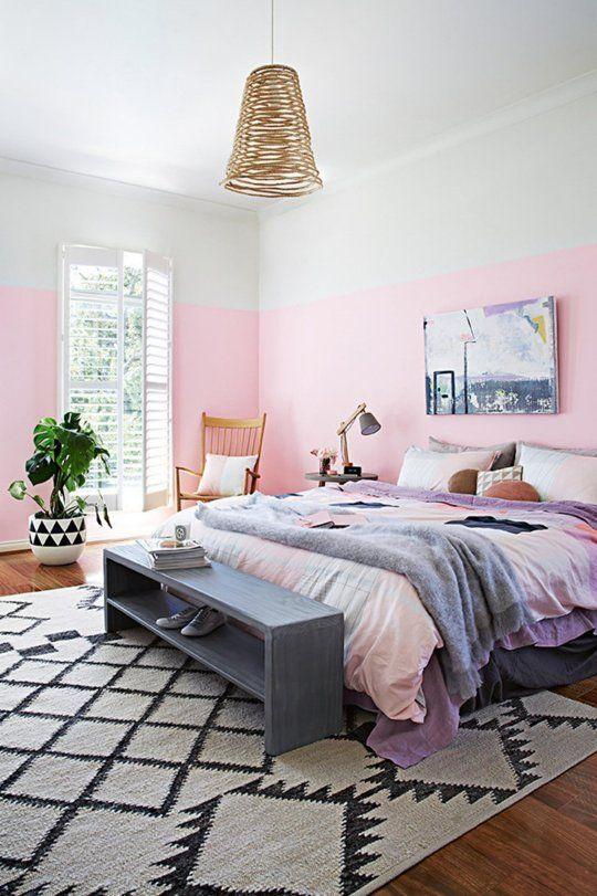 rosa y gris