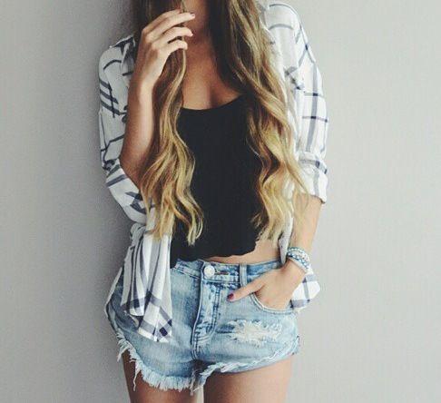 shorts camisa