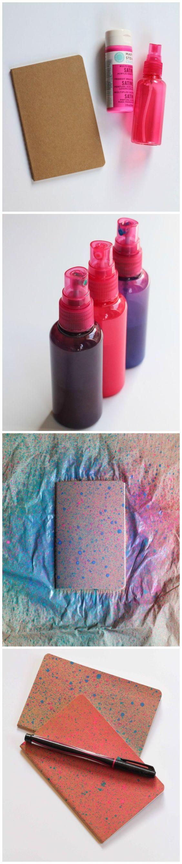 spray notebook