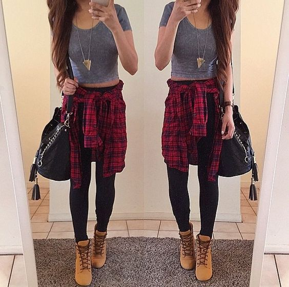 sweater outfit Timberlan