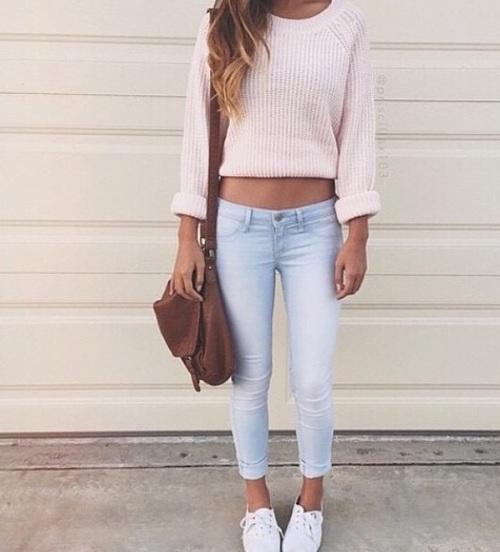 sueter rosa cute
