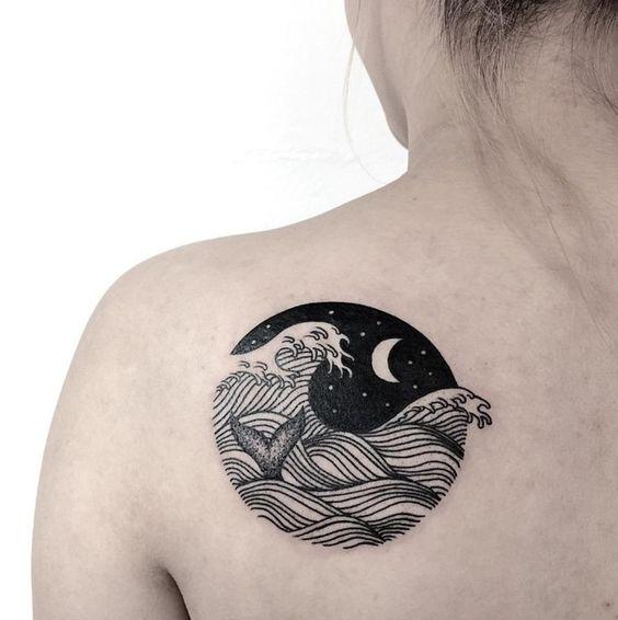 tatuaje circulo