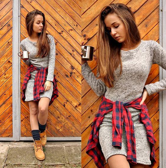 timberland boots women look
