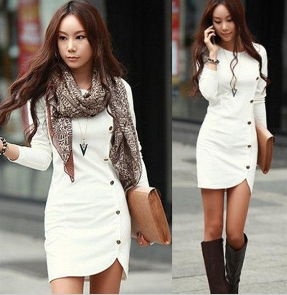 vestido blanco japoneas