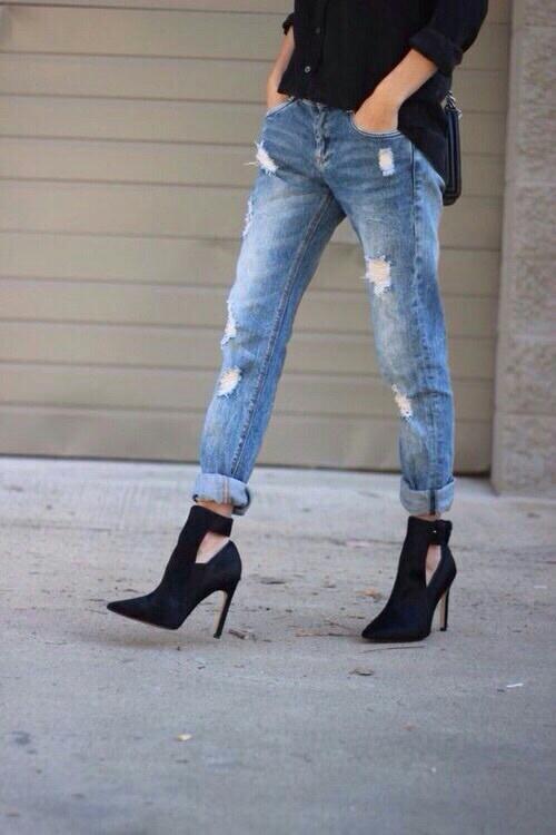 zapato cerrado