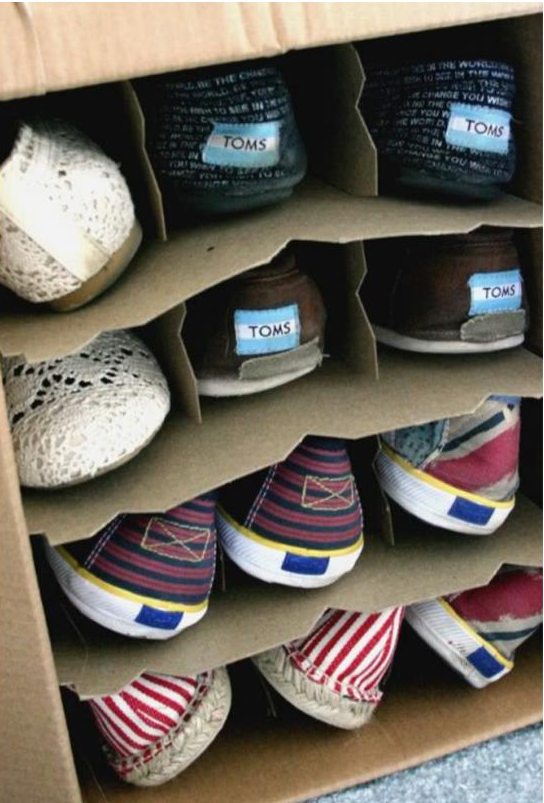 zapatos cajas