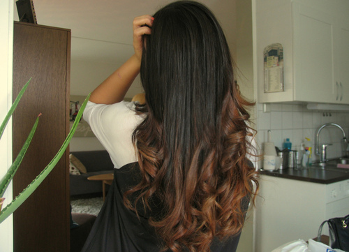 asi quiero mi cabello chicas