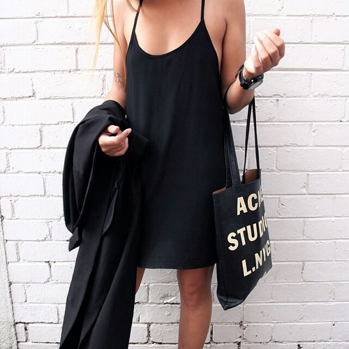 black--dres