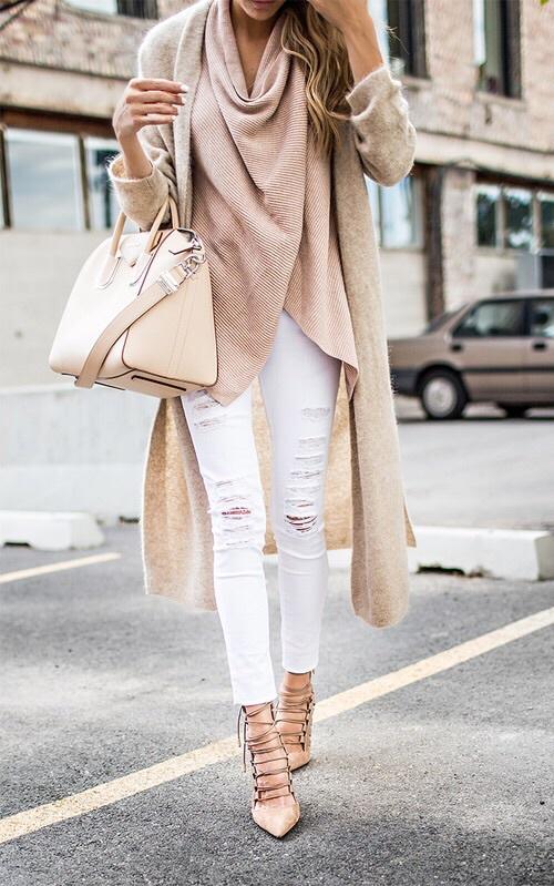 cardigan heels