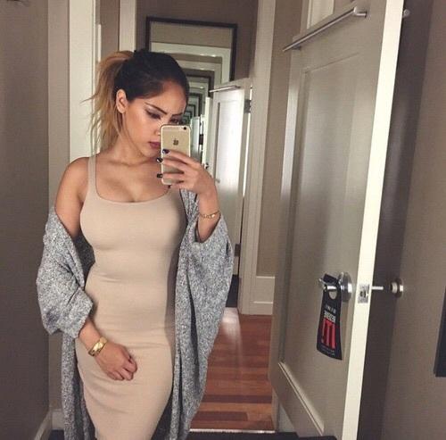 cardigan-vestido largo