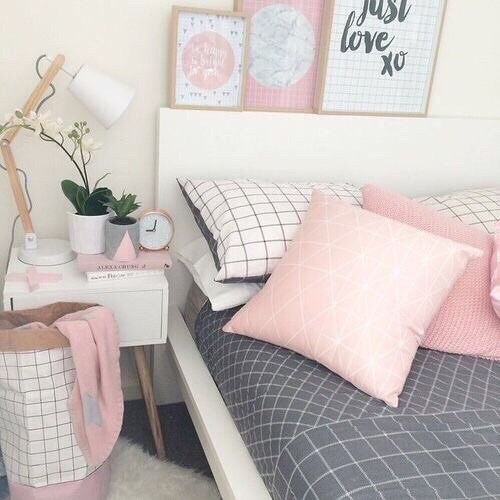 12 ideas para decorar tu cuarto con colores pastel for Pastel diy room decor