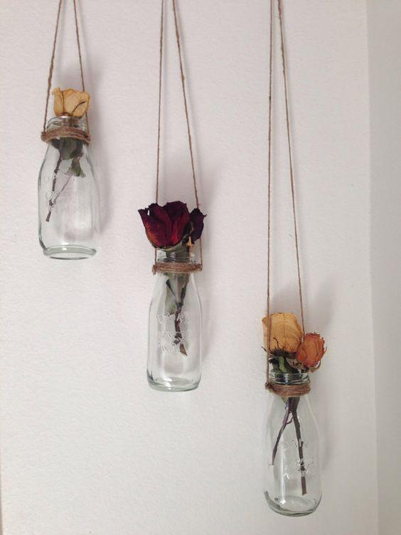 decor dried flowers