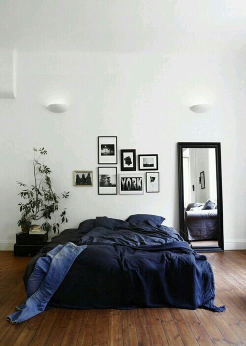 decoracion blanca recamara