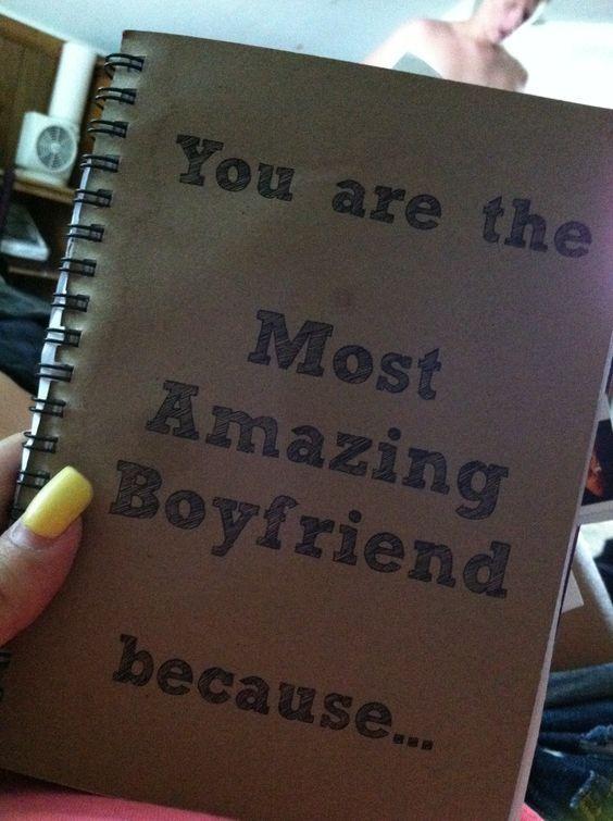 eres el más increíble novio porque