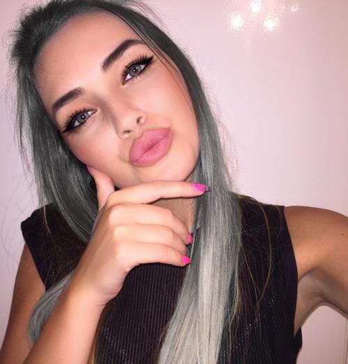 gris cabello nice