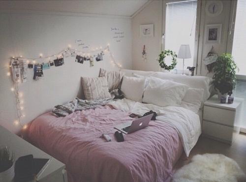 habitacion blanca decorar