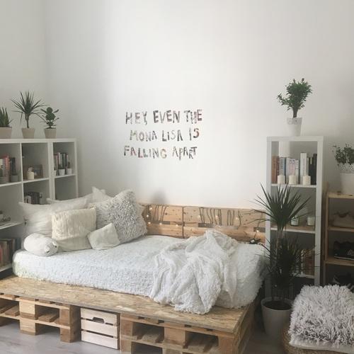 habitacion decoracion blanca