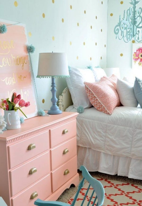 12 Ideas para decorar tu cuarto con colores pastel