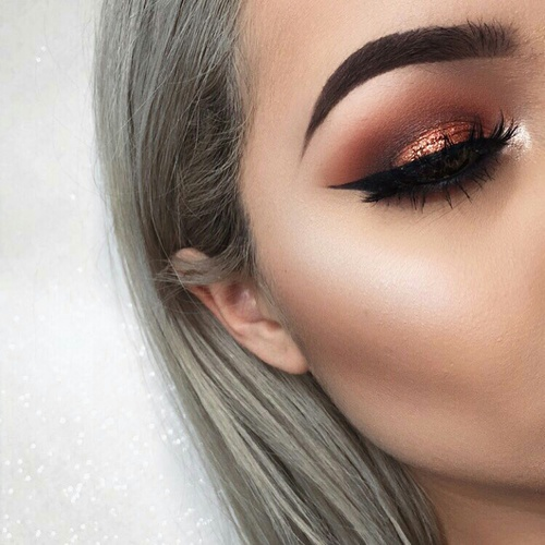 makeup goals chic