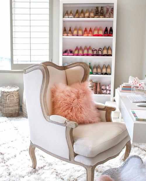 Repisas para tus zapatos que tu habitaci n entera necesita for Mueble zapatos