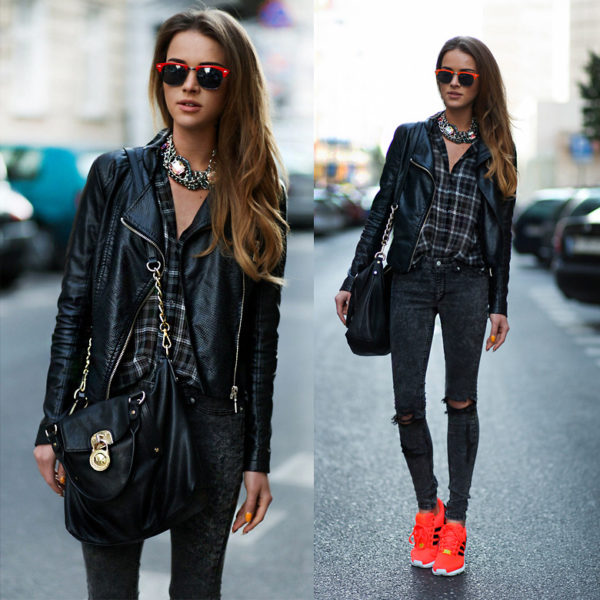 outfits con neon