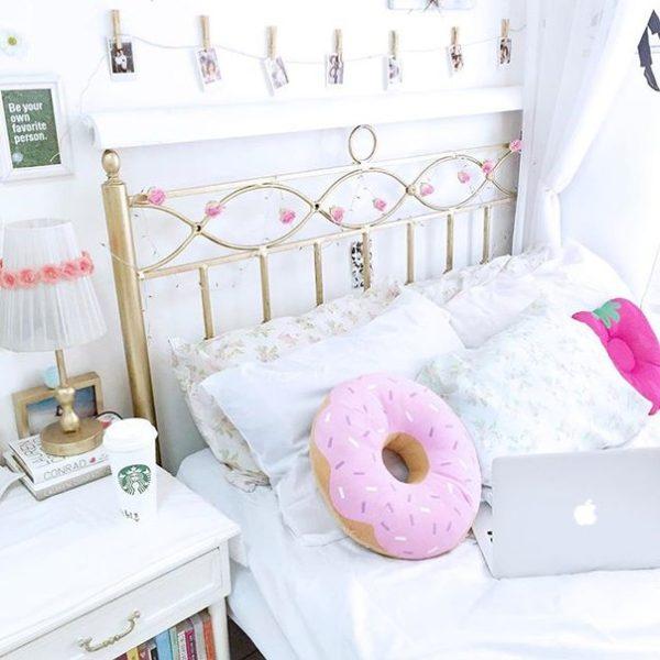 16 ideas para decorar una habitaci n blanca for Recamaras de unicornio para ninas