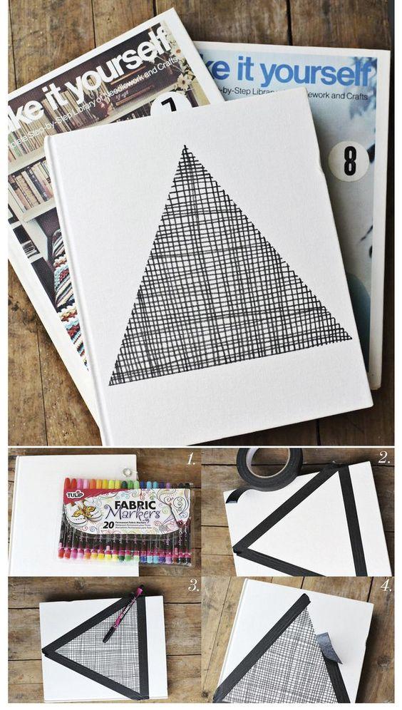 triangulo libreta