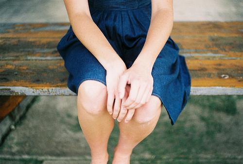 vestido rodillas