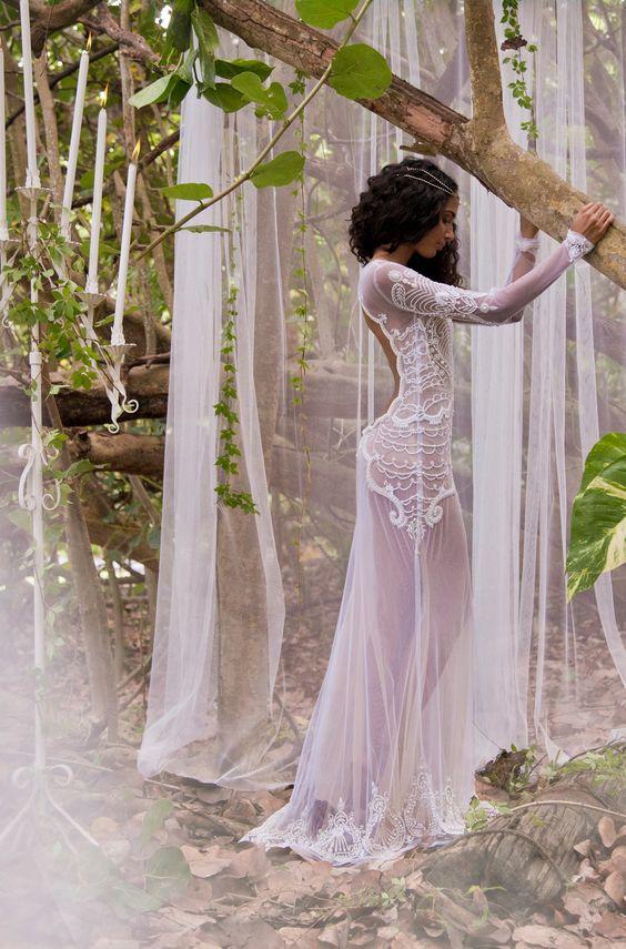 vestido semi