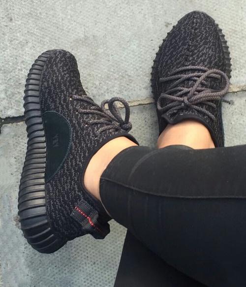 yzy sneakers black