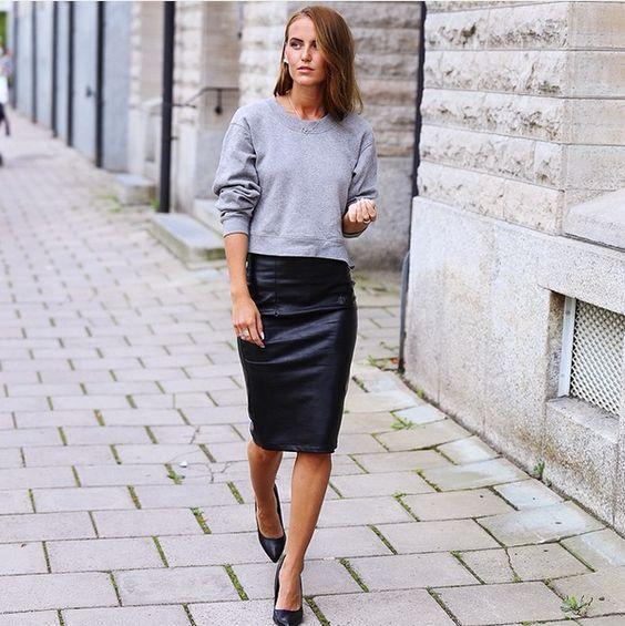 sweatshirt-falda-vinilo
