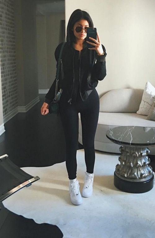 all black kylie