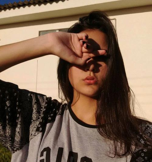 cabello-chica-selfie