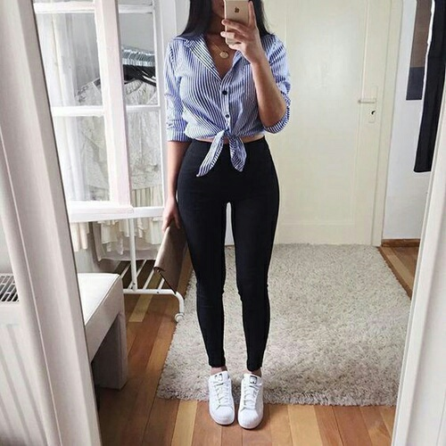 camisa y leggings