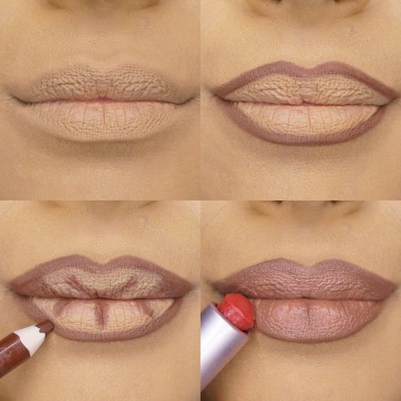 how to use lip liner in hindi