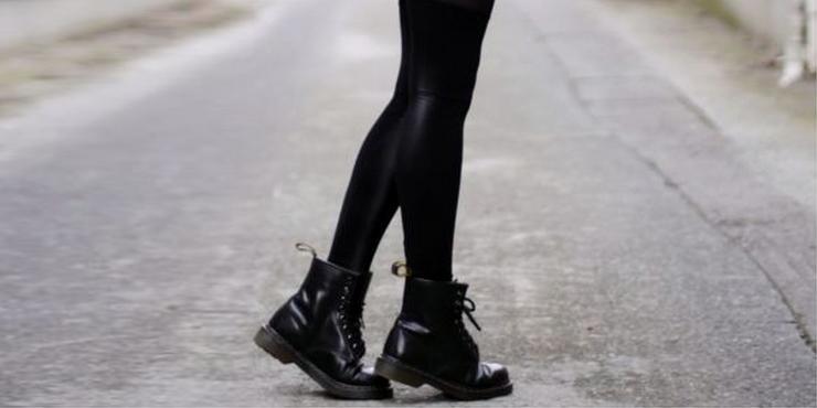 9d4d93b51ee 15 Outfits con botas Dr. Martens para tu día a día