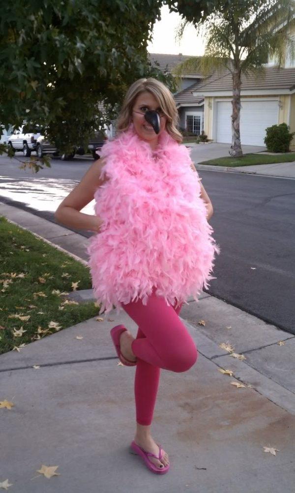 flamingo-costume