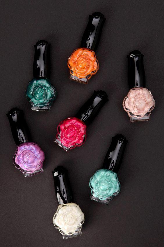 flores-esmalte