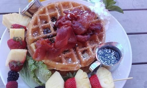 jamon-waffle